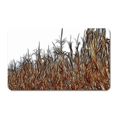 Abstract Of A Cornfield Magnet (rectangular) by bloomingvinedesign
