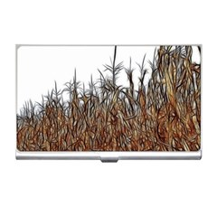 Abstract Of A Cornfield Business Card Holder