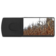 Abstract Of A Cornfield 4gb Usb Flash Drive (rectangle) by bloomingvinedesign