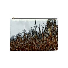Abstract Of A Cornfield Cosmetic Bag (medium)