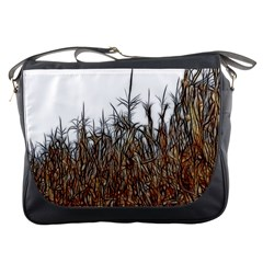 Abstract Of A Cornfield Messenger Bag by bloomingvinedesign
