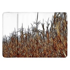 Abstract Of A Cornfield Samsung Galaxy Tab 8 9  P7300 Flip Case