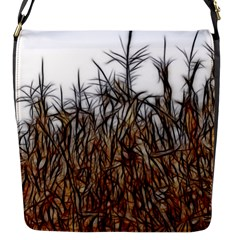 Abstract Of A Cornfield Flap Closure Messenger Bag (small) by bloomingvinedesign