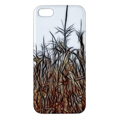 Abstract Of A Cornfield Iphone 5s Premium Hardshell Case by bloomingvinedesign