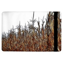 Abstract Of A Cornfield Apple Ipad Air Flip Case by bloomingvinedesign