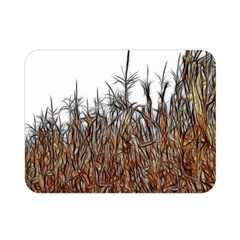 Abstract Of A Cornfield Double Sided Flano Blanket (mini) by bloomingvinedesign