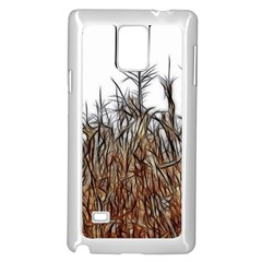 Abstract Of A Cornfield Samsung Galaxy Note 4 Case (white) by bloomingvinedesign