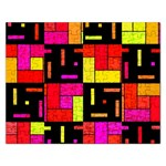 Squares and rectangles Jigsaw Puzzle (Rectangular) Front