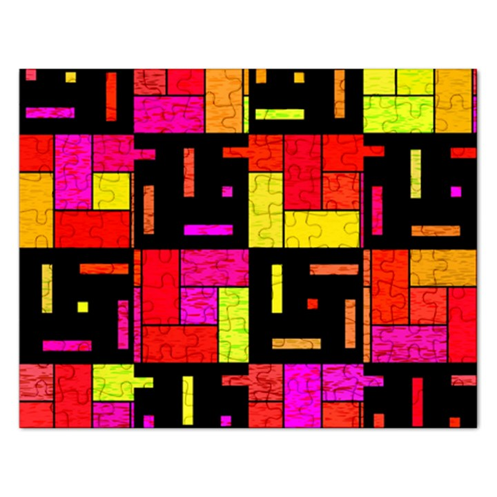 Squares and rectangles Jigsaw Puzzle (Rectangular)