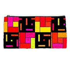 Squares And Rectangles Pencil Case by LalyLauraFLM