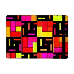 Squares And Rectangles Apple Ipad Mini Flip Case by LalyLauraFLM