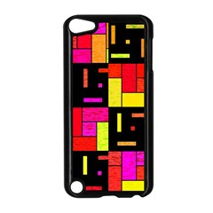 Squares And Rectangles Apple Ipod Touch 5 Case (black) by LalyLauraFLM