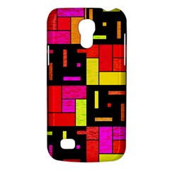 Squares And Rectangles Samsung Galaxy S4 Mini (gt I9190) Hardshell Case  by LalyLauraFLM