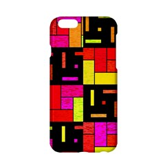 Squares And Rectangles Apple Iphone 6 Hardshell Case by LalyLauraFLM