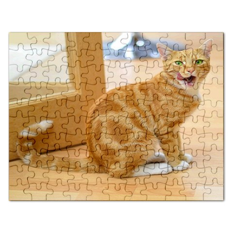 Puzzel  Kitty By Pamela Sue Goforth   Jigsaw Puzzle (rectangular)   0ahzredcq5ua   Www Artscow Com Front