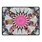 Pretty Pinwheel Double Sided Fleece (small) - Double Sided Fleece Blanket (Small)