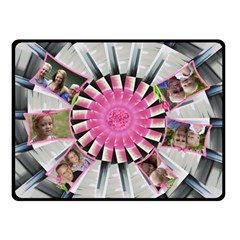Pretty Pinwheel Double Sided Fleece (small) By Deborah   Double Sided Fleece Blanket (small)   Yw2odzolw6yb   Www Artscow Com 50 x40 Blanket Back