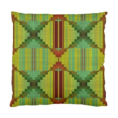 Tribal Shapes Standard Cushion Case (two Sides) by LalyLauraFLM