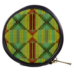 Tribal Shapes Mini Makeup Bag by LalyLauraFLM