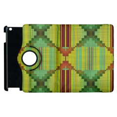 Tribal Shapes Apple Ipad 3/4 Flip 360 Case by LalyLauraFLM