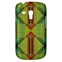 Tribal Shapes Samsung Galaxy S3 Mini I8190 Hardshell Case by LalyLauraFLM