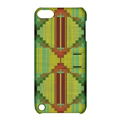 Tribal Shapes Apple Ipod Touch 5 Hardshell Case With Stand by LalyLauraFLM