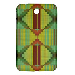 Tribal Shapes Samsung Galaxy Tab 3 (7 ) P3200 Hardshell Case  by LalyLauraFLM