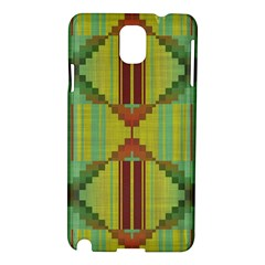 Tribal Shapes Samsung Galaxy Note 3 N9005 Hardshell Case by LalyLauraFLM