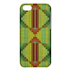 Tribal Shapes Apple Iphone 5c Hardshell Case by LalyLauraFLM