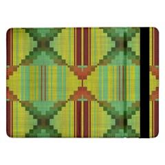 Tribal Shapes Samsung Galaxy Tab Pro 12 2  Flip Case by LalyLauraFLM