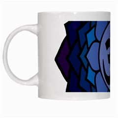 Ohm Lotus 01 White Coffee Mug by oddzodd