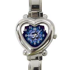 Ohm Lotus 01 Heart Italian Charm Watch  by oddzodd