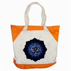 Ohm Lotus 01 Accent Tote Bag by oddzodd