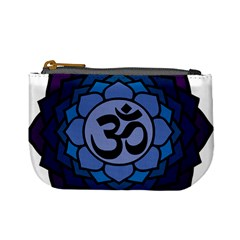 Ohm Lotus 01 Coin Change Purse by oddzodd