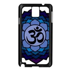 Ohm Lotus 01 Samsung Galaxy Note 3 N9005 Case (black)