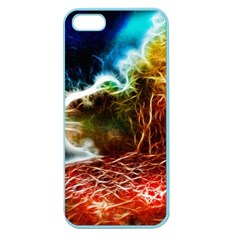 Abstract On The Wisconsin River Apple Seamless Iphone 5 Case (color)