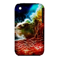 Abstract On The Wisconsin River Apple Iphone 3g/3gs Hardshell Case (pc+silicone) by bloomingvinedesign