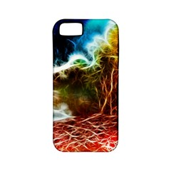 Abstract On The Wisconsin River Apple Iphone 5 Classic Hardshell Case (pc+silicone)