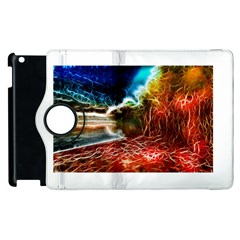 Abstract On The Wisconsin River Apple Ipad 2 Flip 360 Case