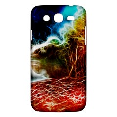 Abstract On The Wisconsin River Samsung Galaxy Mega 5 8 I9152 Hardshell Case  by bloomingvinedesign