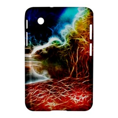 Abstract On The Wisconsin River Samsung Galaxy Tab 2 (7 ) P3100 Hardshell Case  by bloomingvinedesign