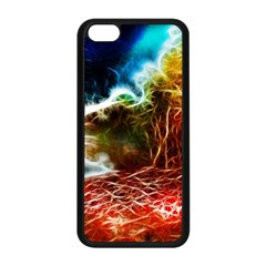 Abstract On The Wisconsin River Apple Iphone 5c Seamless Case (black) by bloomingvinedesign