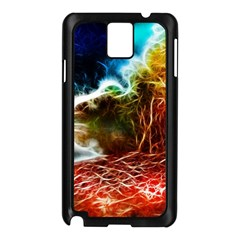 Abstract On The Wisconsin River Samsung Galaxy Note 3 N9005 Case (black)