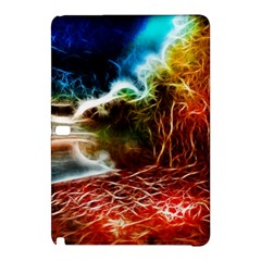 Abstract On The Wisconsin River Samsung Galaxy Tab Pro 12 2 Hardshell Case by bloomingvinedesign