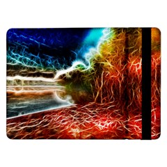 Abstract On The Wisconsin River Samsung Galaxy Tab Pro 12 2  Flip Case by bloomingvinedesign