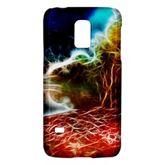 Abstract On The Wisconsin River Samsung Galaxy S5 Mini Hardshell Case  by bloomingvinedesign