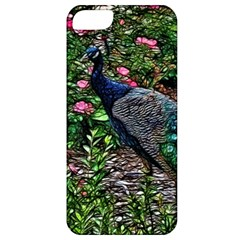 Peacock With Roses Apple Iphone 5 Classic Hardshell Case by bloomingvinedesign