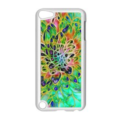 Abstract Peacock Chrysanthemum Apple Ipod Touch 5 Case (white)