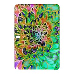 Abstract peacock Chrysanthemum Samsung Galaxy Tab Pro 12.2 Hardshell Case
