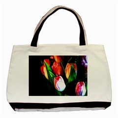 Abstract Pink Tulips Classic Tote Bag by bloomingvinedesign
